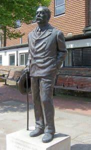 Conan Doyle Statue