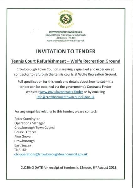 Advert for the tender